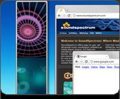 audio visualizer v-bar desktop